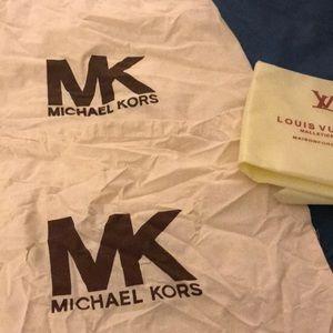 Michael Kors Bags - 2 large Michael Kira dust bags